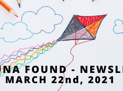 March 22nd, 2021 Kite Newsletter