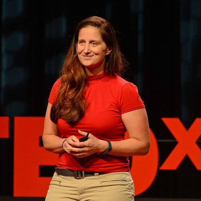 That time I was on the TED stage