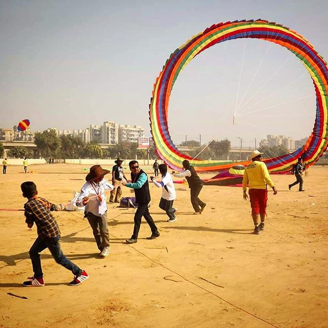 Nothing could stop us from flying Kites.