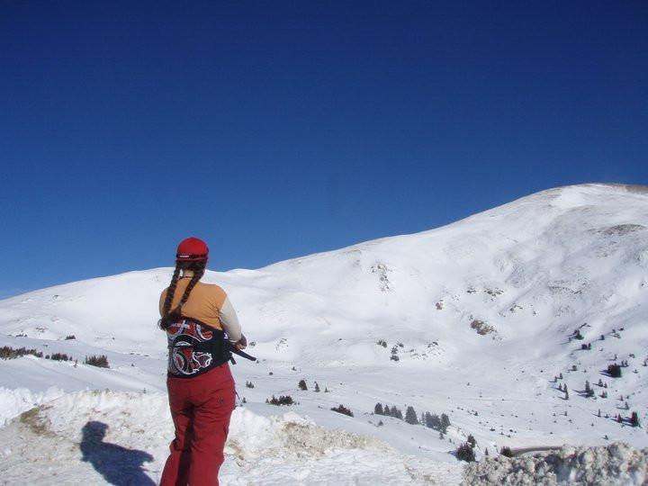Pondering a Snowkiting trip on Loveland Pass