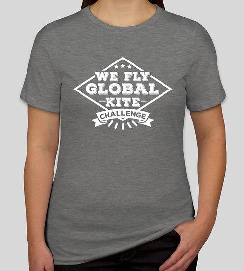 WFGKC Womens Cut T-shirt Grey