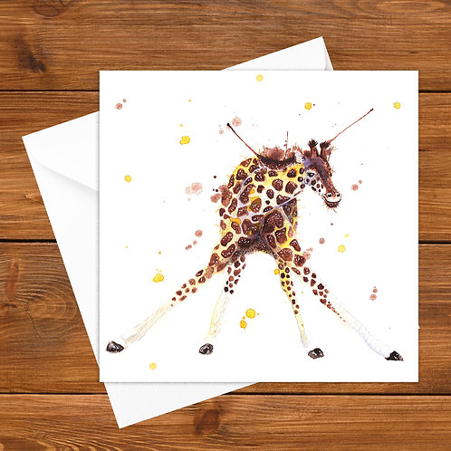 Larry Long Legs Greeting Card