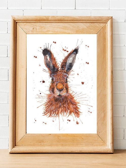 The Wild Hare Print