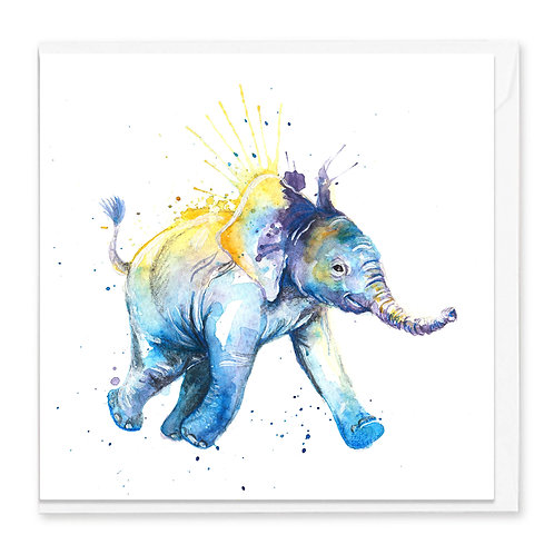 To The Watering Hole Greeting Card