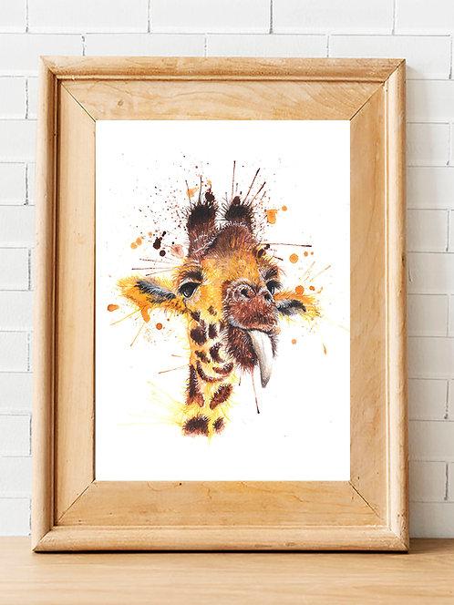 Ozzy Giraffe Print