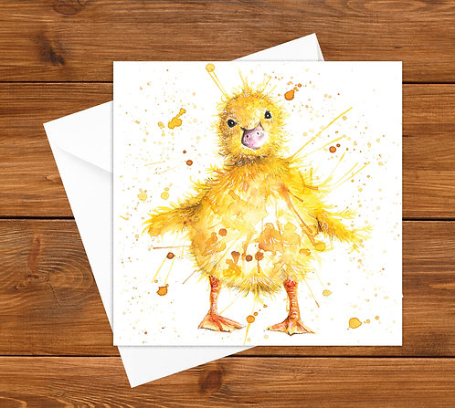 Little Quacker Greeting Card