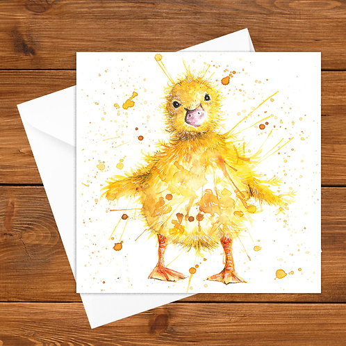 Little Quacker Greeting Card