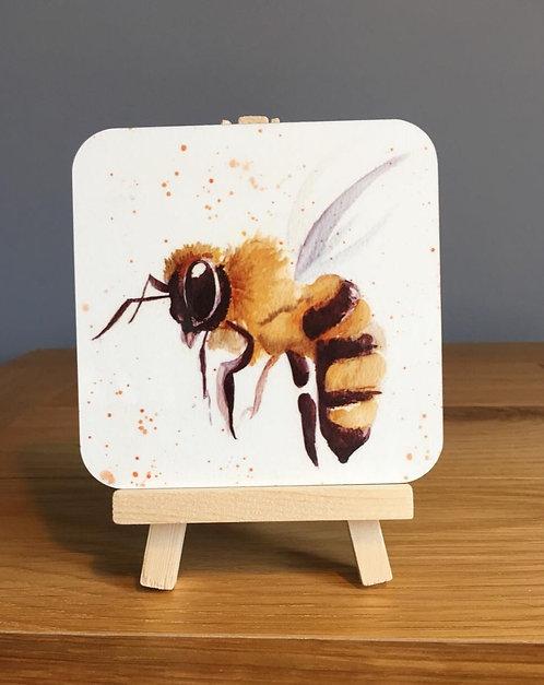 'Splatter Bee' Coaster