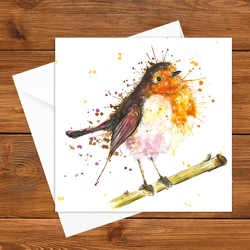 Roger Robin Greeting Card