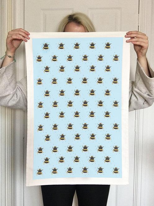 Splatter Bee Tea Towel