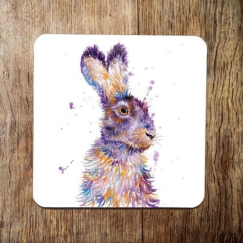 Purple Hare Coaster