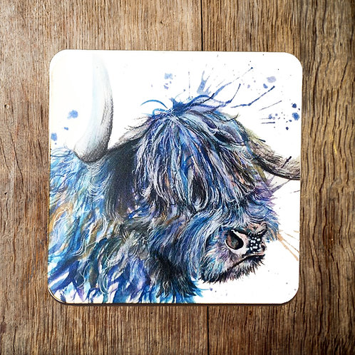 The Scruffy Coo Coaster