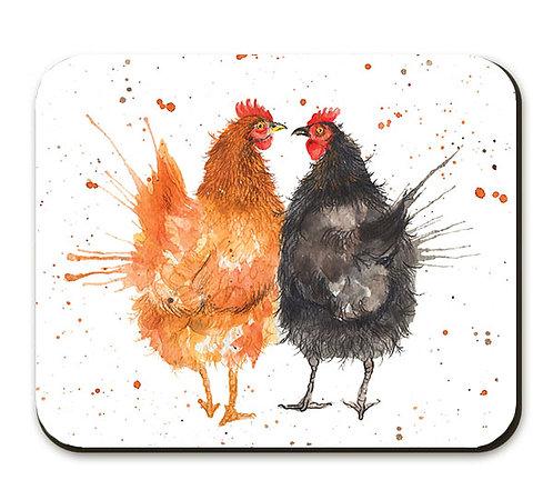 Splatter Love Chicken's Placemat