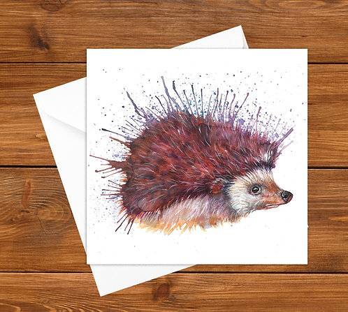 Mr Prickles Greeting Card