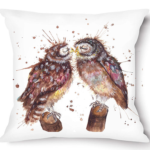 Loved Up Vegan Suede Cushion