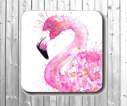 Small Pretty In Pink Coaster