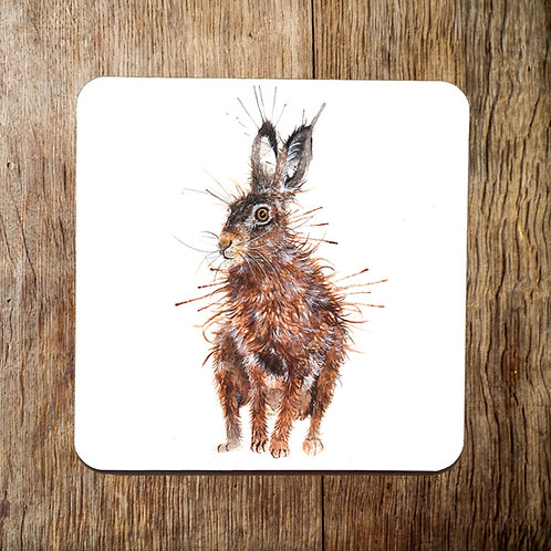 Standing Tall Hare Coaster