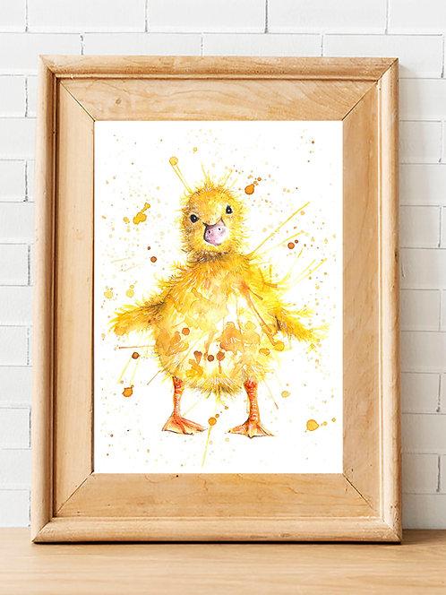 Little Quacker Print