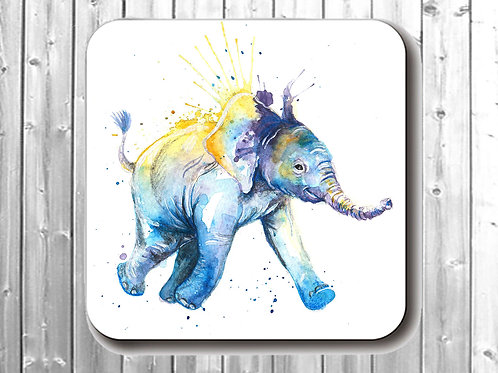 Small To The Watering Hole Coaster