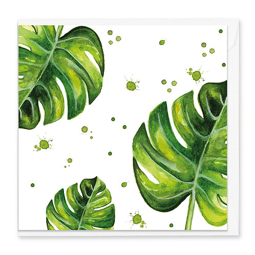 Montreal Leaf Greeting Card