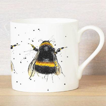 Splatter Bee Bone China Mug