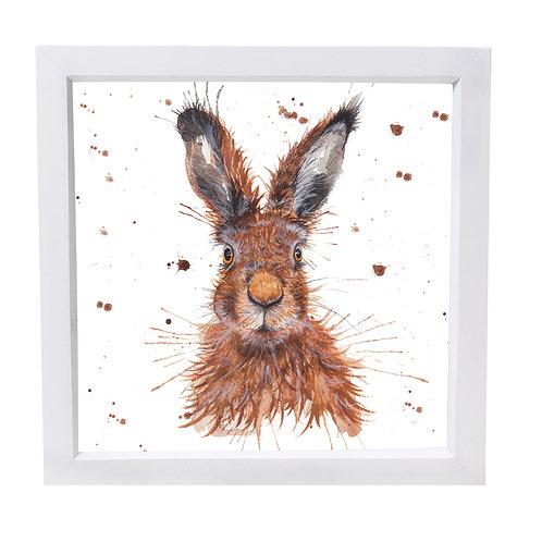 Wild Hare Framed Mini Print