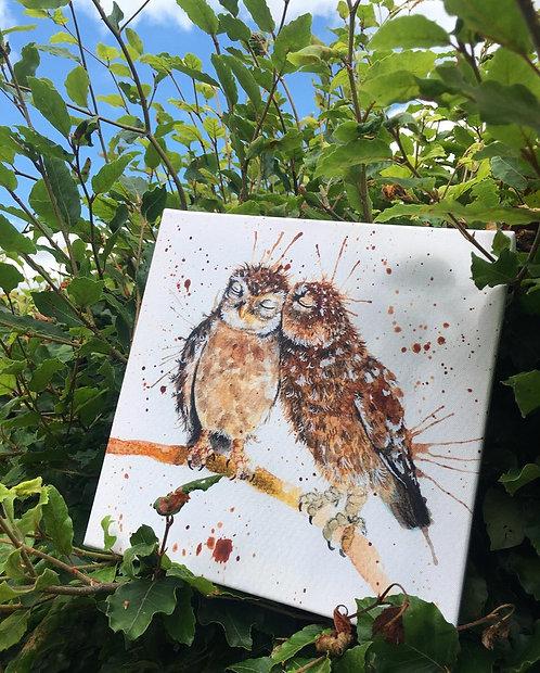Owl always love you Mini Canvas