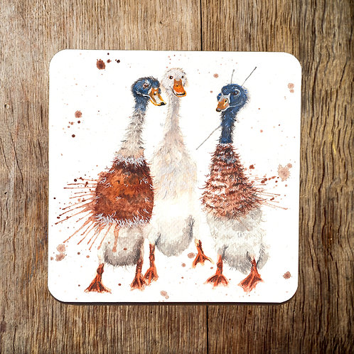 Gossip Time Runner Ducks Coaster