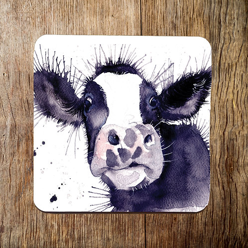 Marshall Cow Coaster