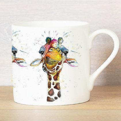 Rainbow Giraffe Bone China Mug