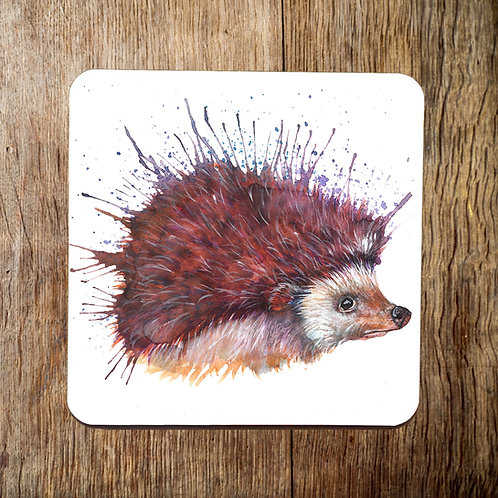 Mr Prickles Hedgehog Coaster