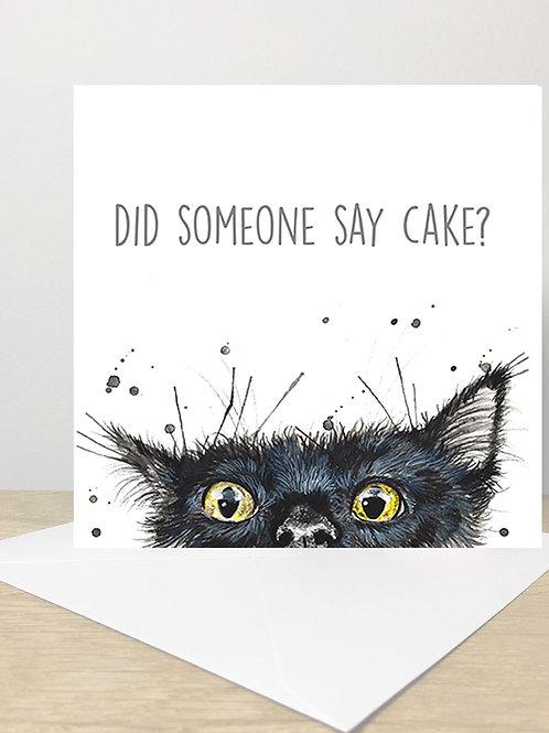 Did Someone Say Cake?