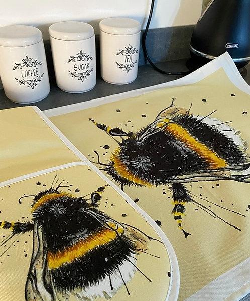Splatter Bee Oven Glove