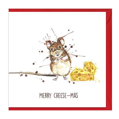 Merry Cheese-mas Card