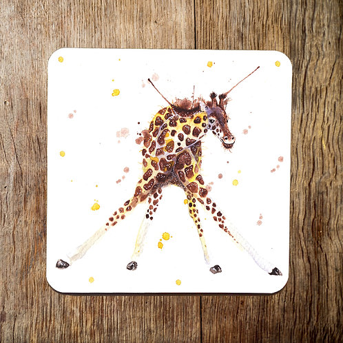 Larry Long Legs Giraffe Coaster