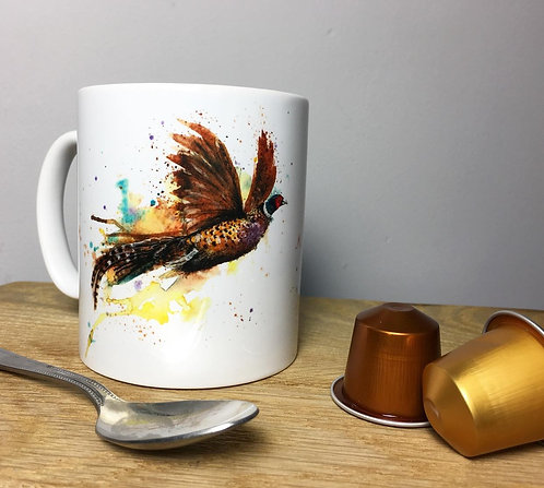 Fly Away Pheasant Mug
