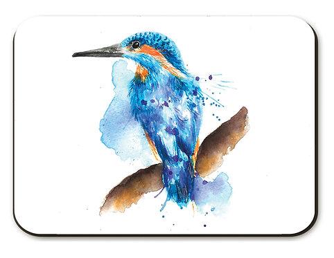 Splatter Kingfisher Placemat
