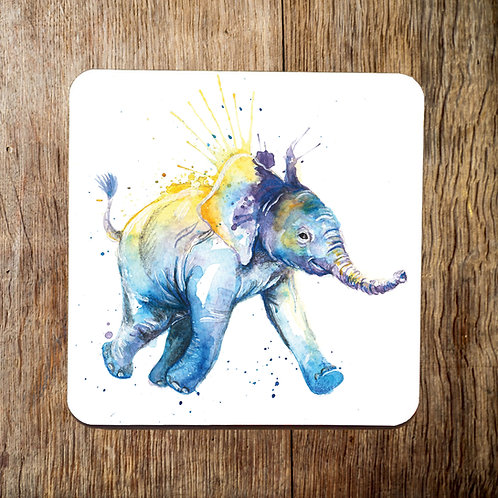 To The Watering Hole Elephant Coaster