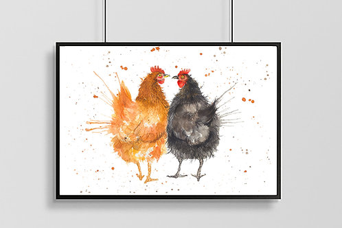 Love Chicken's Print