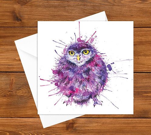 Cute and fluffy Greeting Card
