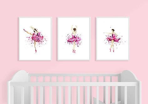 Splatter Ballerina Prints