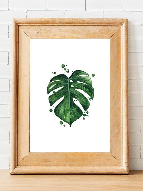 Splatter Montreal Leaf