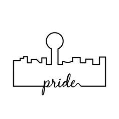 Knoxville Cityscape Pride