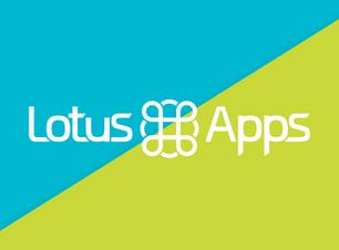 Lotus Apps Branding