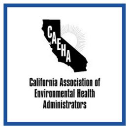California Association of Environmental Health Administrators