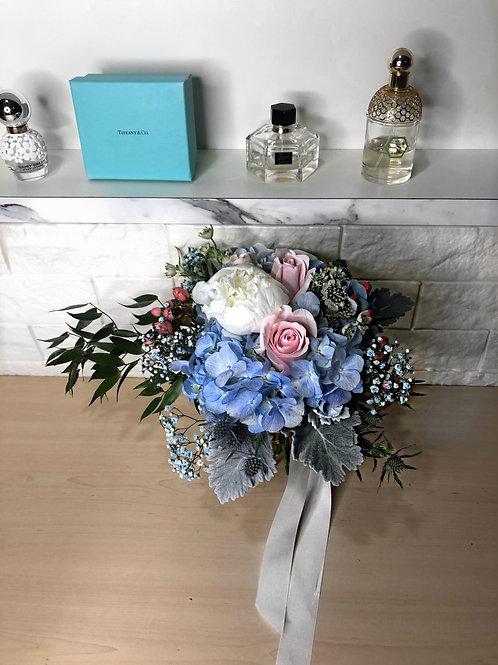 Hydrangea Peony Bridal Hand Bouquet