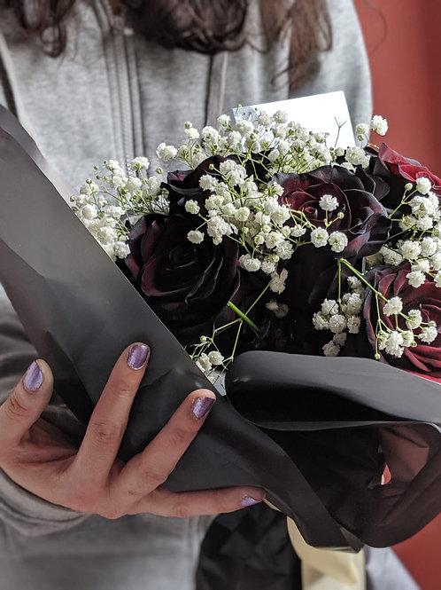 Ecuador Long Stemmed Black Rose Bouquet