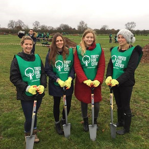 KUDOS TAKES PART IN LONDON'S LARGEST EVER TREE-PLANTING EVENT