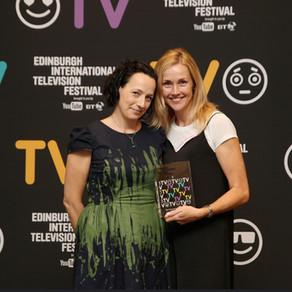 THE TUNNEL WINS EDINBURGH TV AWARD