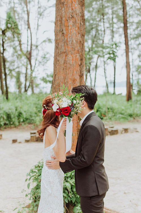 The Wedding Shoot Bouquet